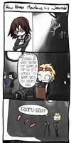 Kaoru Mini Comic by brokenlink
