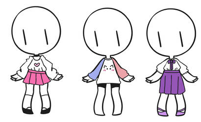 Pastel Outfits [CLOSED] by Panmars