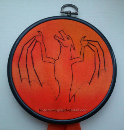 Embroidery by Bronzewinged