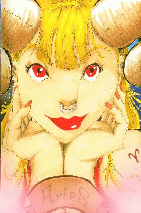 Cute Monsters Horoscope - Aries by MickaelLibai