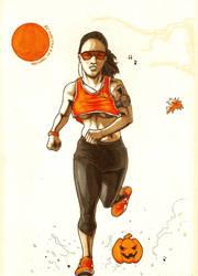 Front Runner - Inktober #7 by MickaelLibai