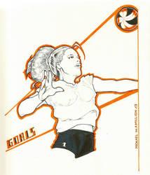 Goals - Inktober #10 by MickaelLibai