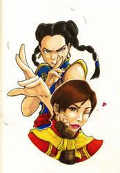 Virtua Fighter - Pai vs Eileen by MickaelLibai