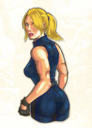 Virtua Fighter - Sarah Bryant by MickaelLibai