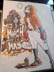 March Art Madness 2018 by MickaelLibai