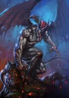 Devilman Color by LucioParrillo
