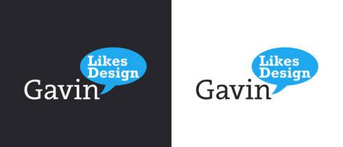 Gavin Likes Design Logo by Swiftau