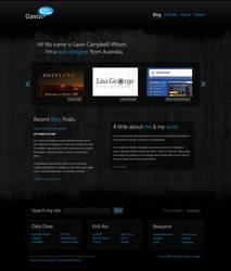 Gavin Likes Design Website by Swiftau