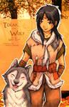 CoAD: Torak and Wolf by suzannedcapleton