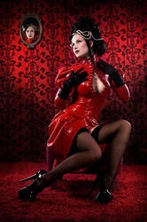 Victorian latexbabe by SisterSinister