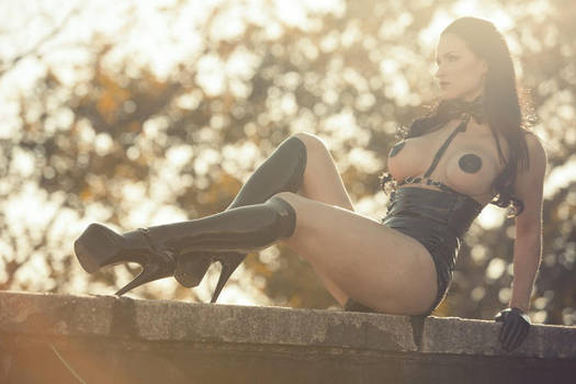 Rooftop sun by SisterSinister