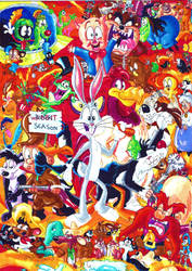 Looney Tunes by seriousdog