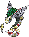 Quetzalmon Sprite by Wooded-Wolf