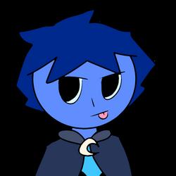 Blue by catycatkin