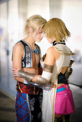 Vaan and Ashe Cosplay, FFXII. Together by hakucosplay