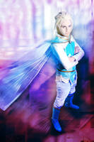 Elsa (Male Version Gender bender), Disney's Frozen by hakucosplay