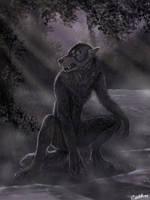Werewolfess by CharReed