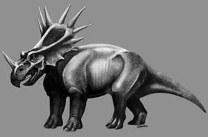 Styracosaurus by CharReed