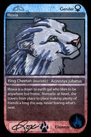 Rioxia - DA Trading Card by CharReed