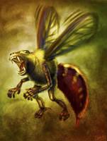 Mutation Nation: Baboon Wasp by CharReed