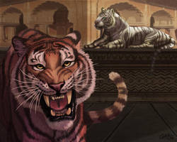 Tiger Guards by CharReed