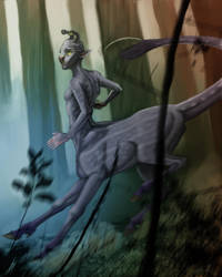 Hork-Bajir Chronicles Alternate Cover- Aldrea by CharReed