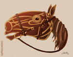 Joey the War Horse by CharReed