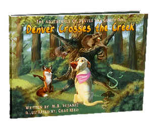 Denver Crosses the Creek Children's Book by CharReed