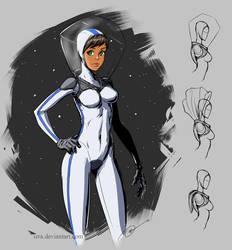 Space suit concept by IZRA