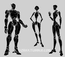 robot designs 2 by IZRA