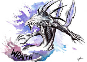 Wraith by dontMakemeCow