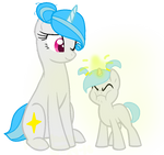 Mommy sparkz and filly Winter by WHBCMB2005