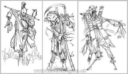 Scarecrows by AlyFell