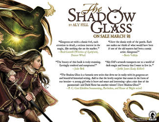 The Shadow Glass: Publication Day by AlyFell