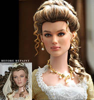 Repaint Doll - Keira Knightley by noeling