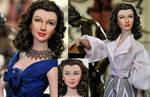 Doll Repaint - Vivien Leigh by noeling