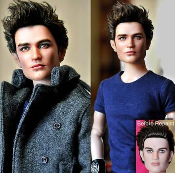 Doll Repaint - Twilight Edward by noeling