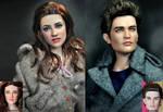 Repaint - Twilight Dolls by noeling