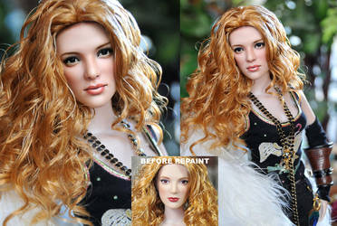 Doll Repaint Twilight Victoria by noeling
