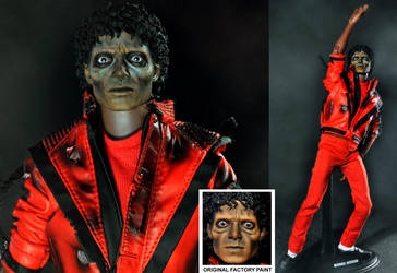 Michael Jackson as zombie by noeling