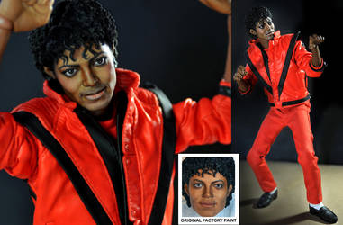 Michael Jackson in Thriller by noeling