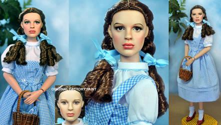 Dorothy Doll Repaint Wizard of OZ by noeling