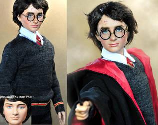 Daniel Radcliffe Harry Potter by noeling