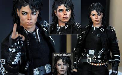 Michael Jackson doll art - BAD by noeling