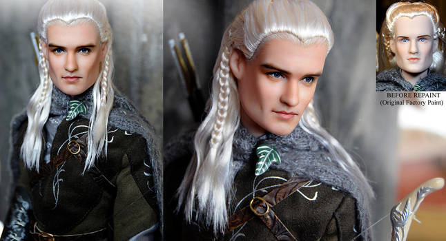 Orlando Bloom LEGOLAS doll by noeling