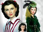 Scarlett O'hara doll repaint by noeling