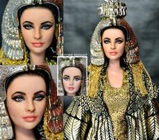 Elizabeth Taylor Tribute Doll by noeling