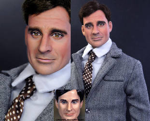 Steve Carell Maxwell Smart dol by noeling