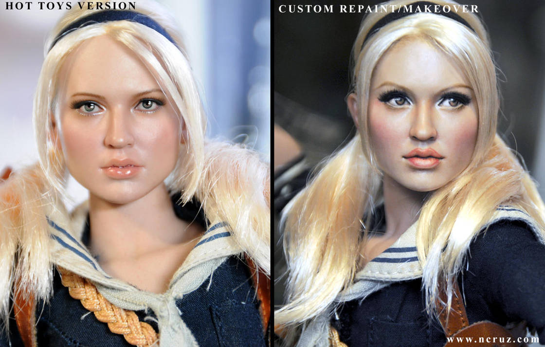 Hot Toys Sucker Punch Babydoll repaint FINAL VERS by noeling