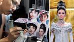 My Fair Lady Audrey Hepburn custom repainted doll by noeling